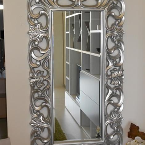 Specchio barocco scontato del 50 complementi a prezzi for Specchio barocco argento