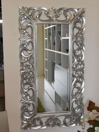 Specchio barocco scontato del 50 complementi a prezzi scontati - Specchio barocco argento ...