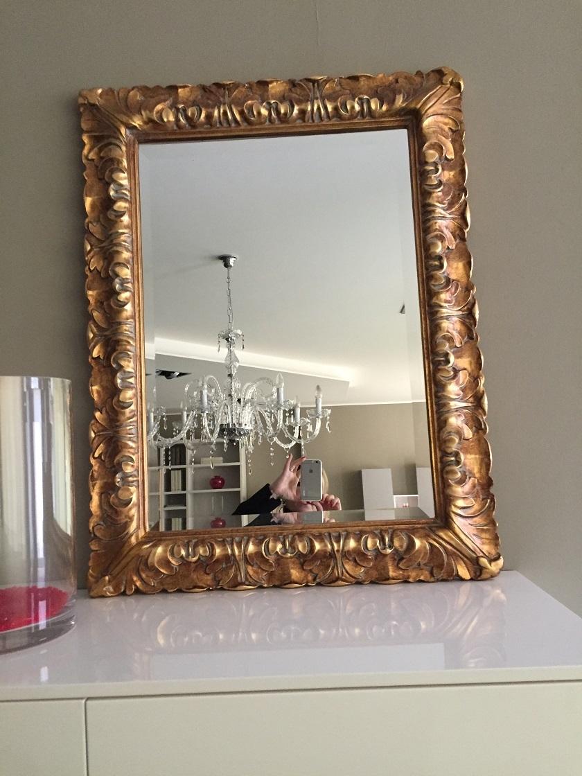 Specchio classico specchio rettangolare classico complementi a prezzi scontati - Quadri a specchio moderni ...