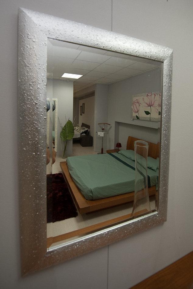 specchio cornice argento 12200 complementi a prezzi scontati