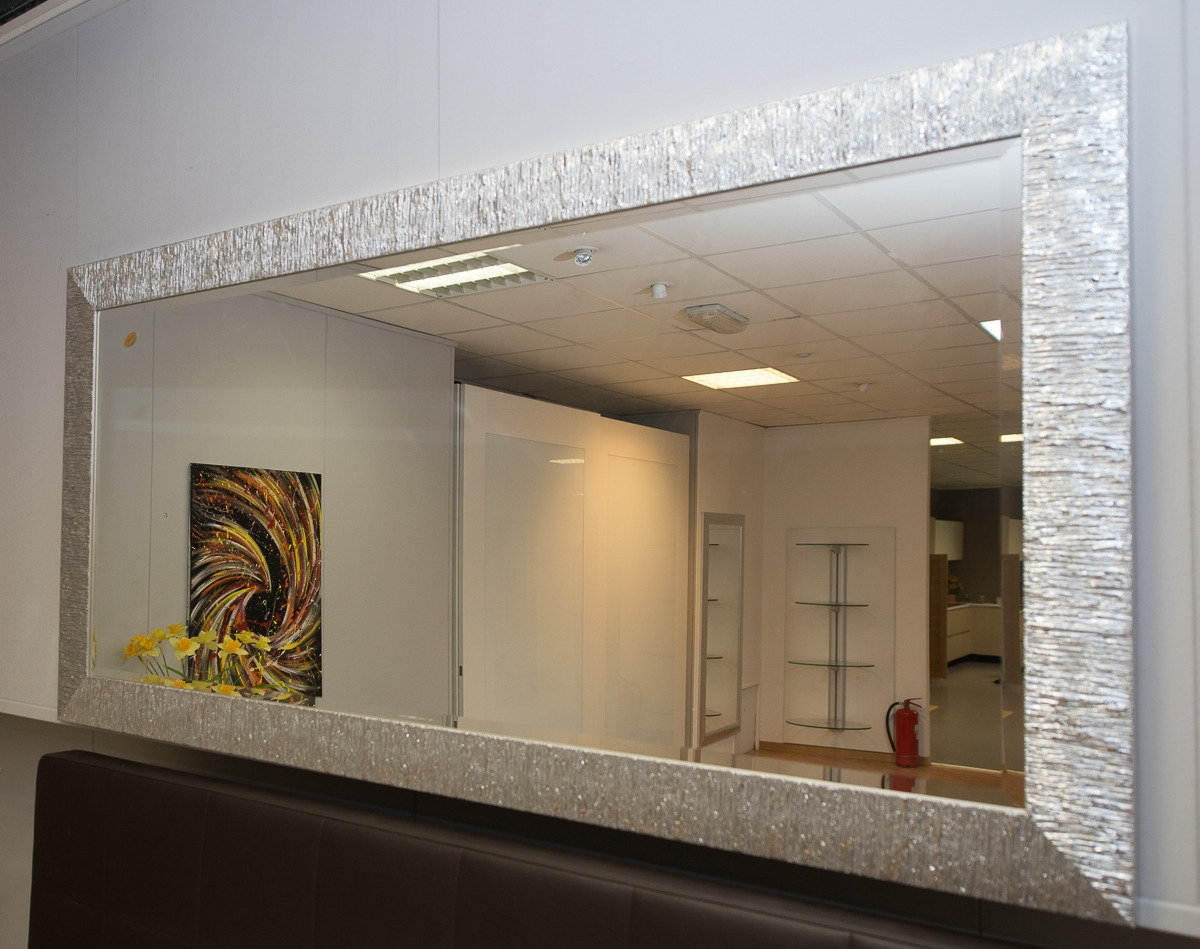 Specchio cornice argento 12201 complementi a prezzi scontati - Quadri a specchio moderni ...
