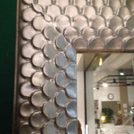 Specchio Cornice Argento Complementi A Prezzi Scontati