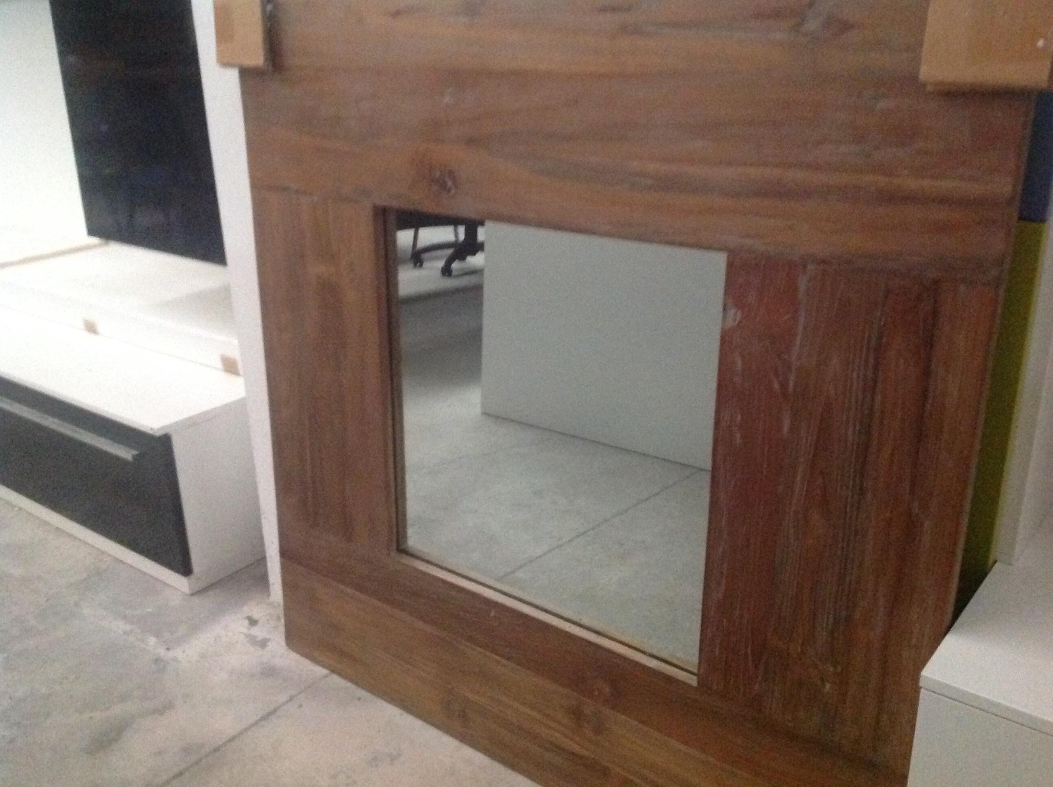 Specchio cornice teak - Complementi a prezzi scontati