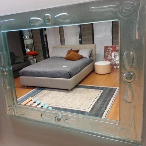 Complemento specchio con cornice vetro scontato del 48 for Cornice specchio