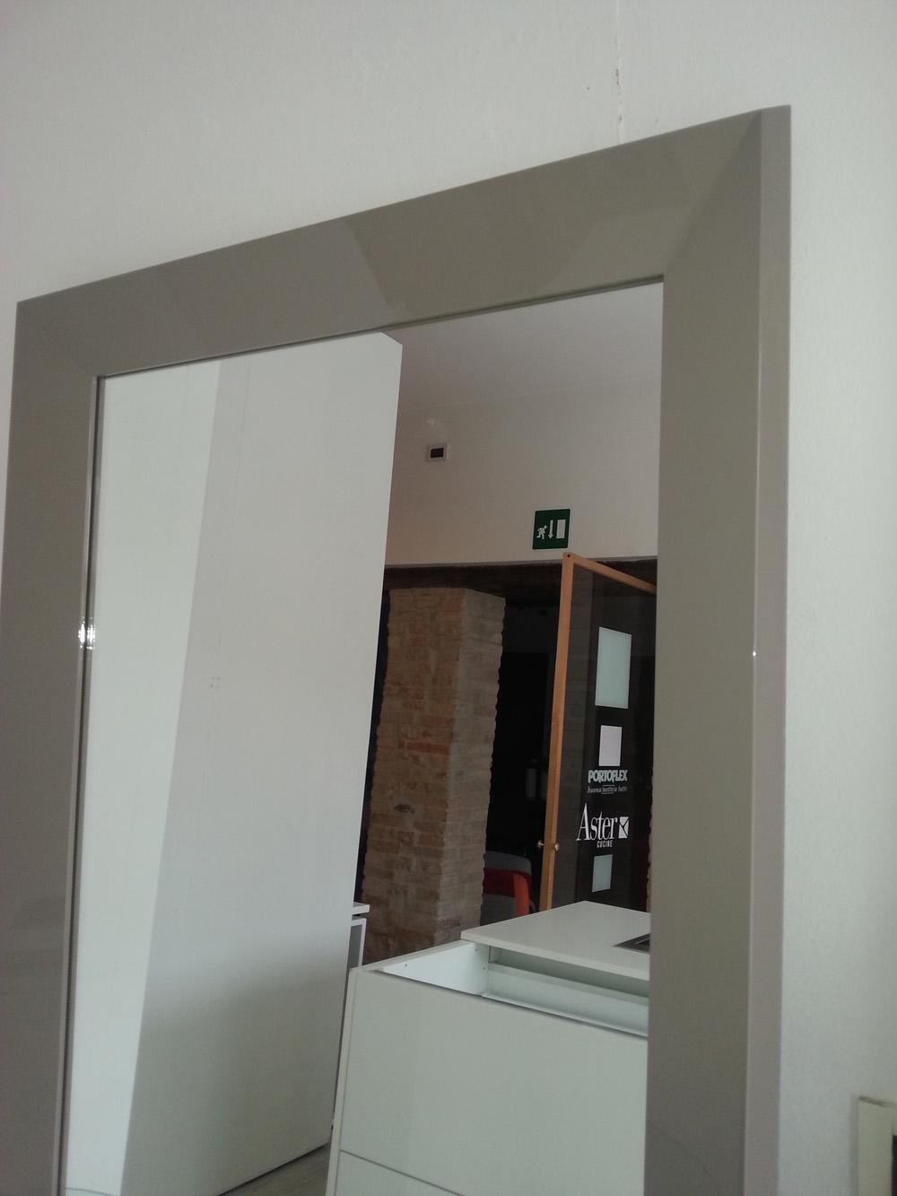 Complemento specchio design laccato lucido specchi - Altezza specchio ...