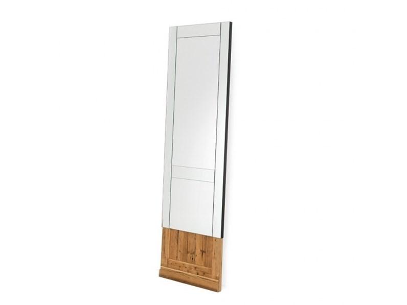 Specchio da parete o appoggio Mogg Don\'t open in legno a prezzo ...