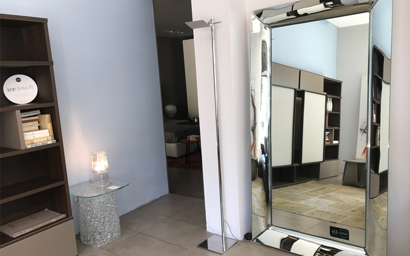 specchio design by philippe starck in sconto complementi
