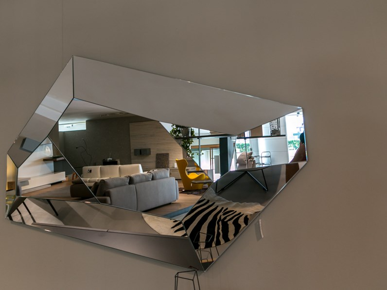 Specchio di cattelan modello diamond scontato del 20 - Specchio diamond riflessi prezzo ...