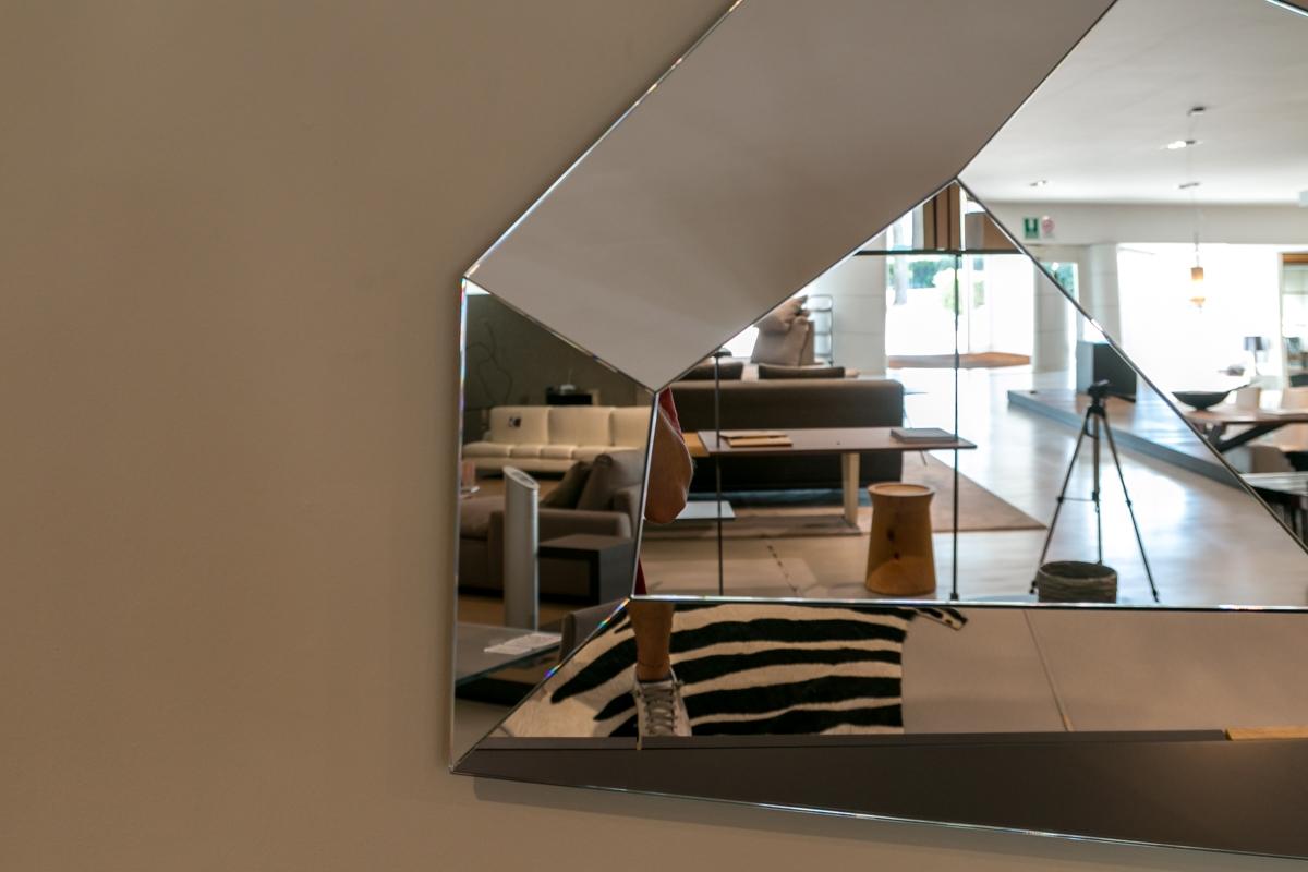 Specchio di cattelan modello diamond scontato del 20 - Scrivere a specchio ...