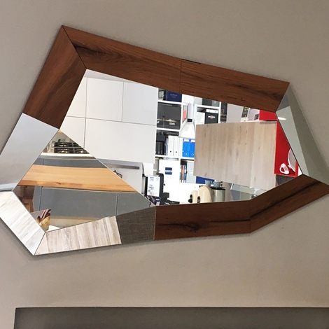 Specchio di design trixy scontato del 35 complementi a for Design scontato