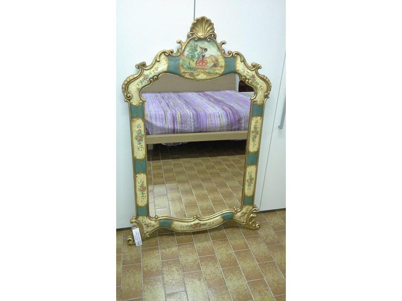 Specchio grifoni 2150 for Zanotti arredamenti