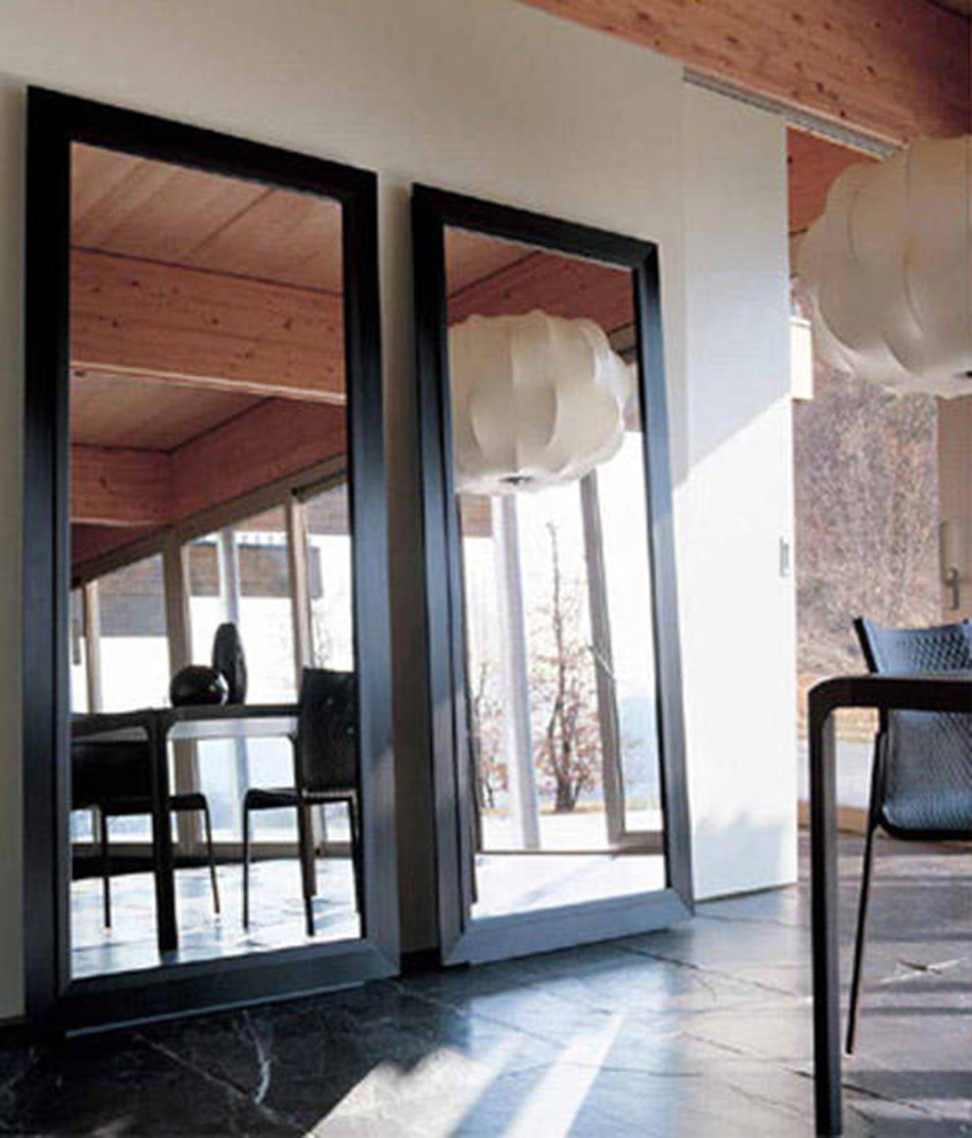 Specchio in offerta ycami alluminio marrone complementi a prezzi scontati - Alluminio lucidato a specchio ...