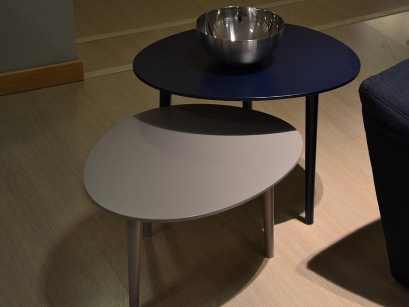 complemento jesse pond design laccato opaco tavolini