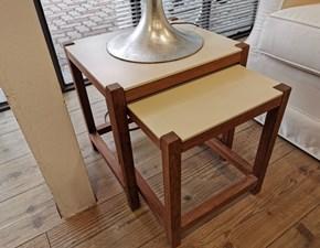 Tavolino Artigianale 2 tavolini in legno a prezzo scontato