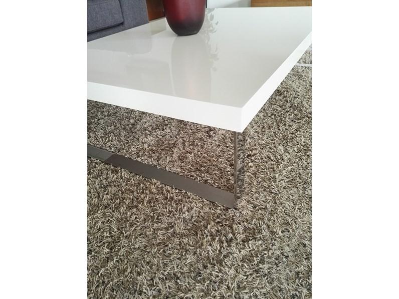 Tavolo Bianco Laccato Lucido.Tavolino Bianco Lucido In Laccato Lucido Calligaris Sconto Del 31