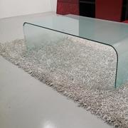 Tavolino vetro curvo by Sica 390€