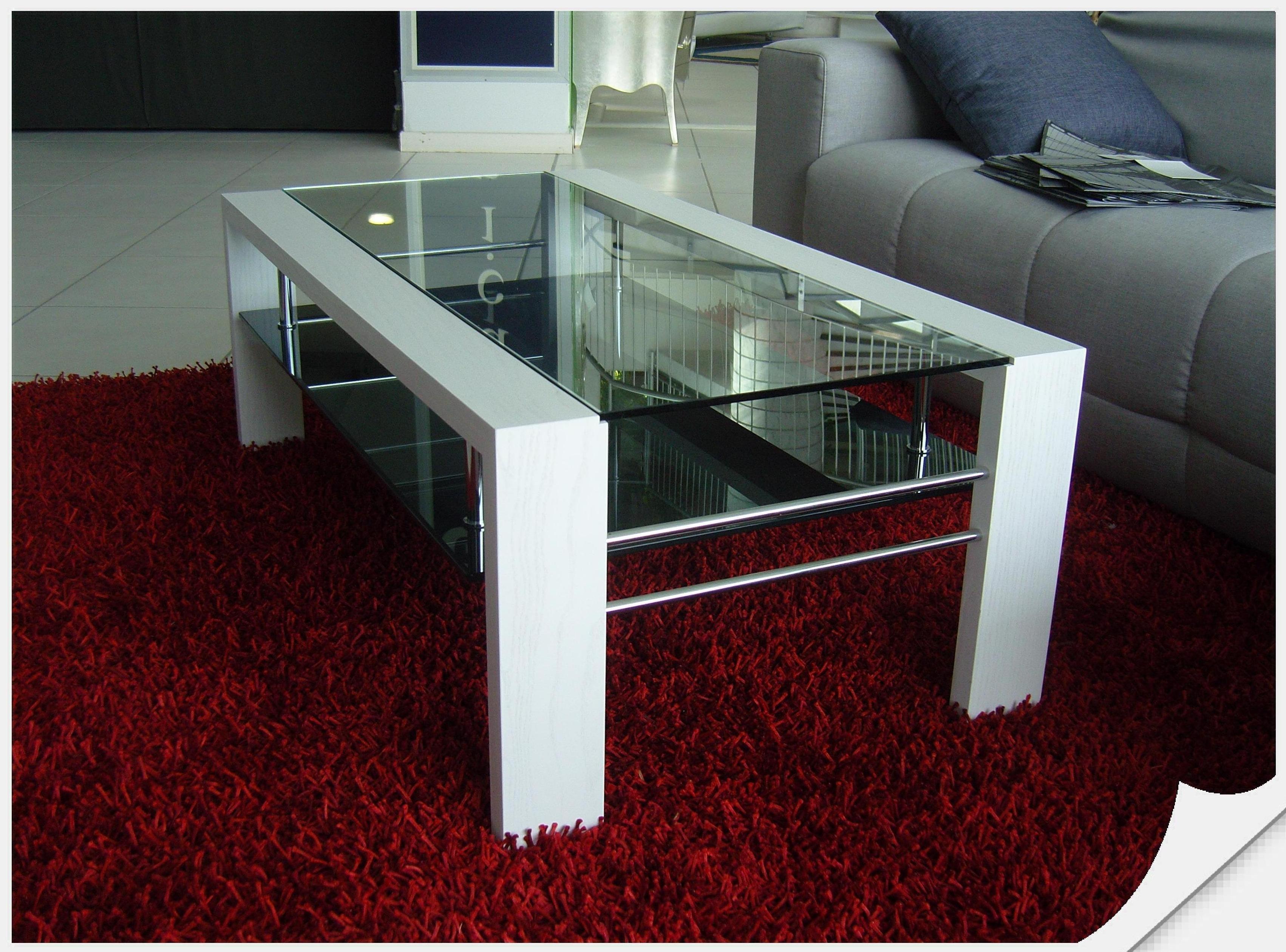 tavolino da salotto legno e vetro scontato del 38