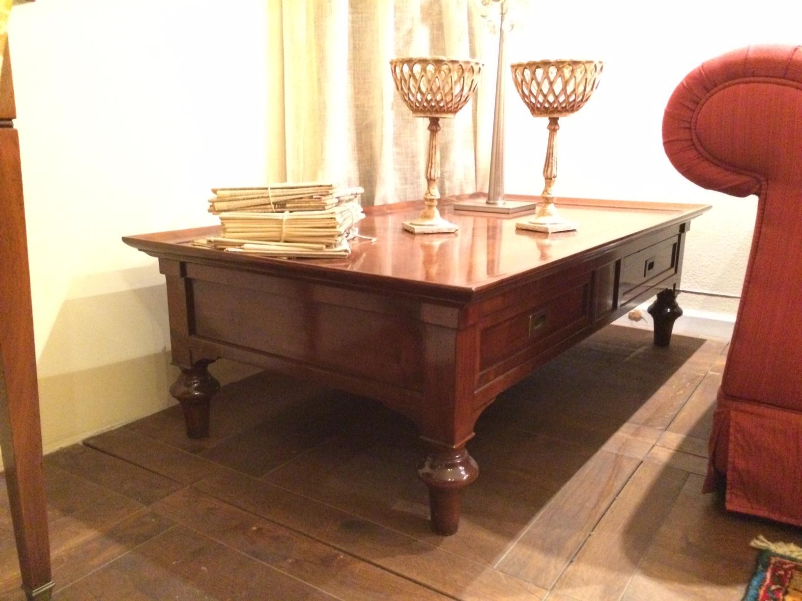 Tavolini da salotto grande arredo scontato del 50 for Tavolini soggiorno moderni
