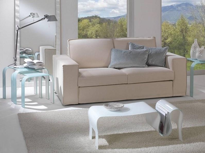 Tavolino in vetro Tavolino mod.omar in cristallo curvato scontato del 30%  Artigianale a prezzo scontato