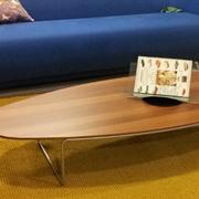 Tavolino ovale da salotto scontato -80%