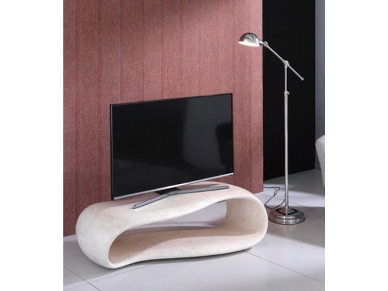Tavolino Per Tv.Tavolino Porta Tv In Pietra Fossile Origniale