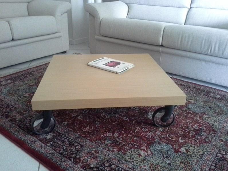 Tavolino rovere con ruote for Zanotti arredamenti