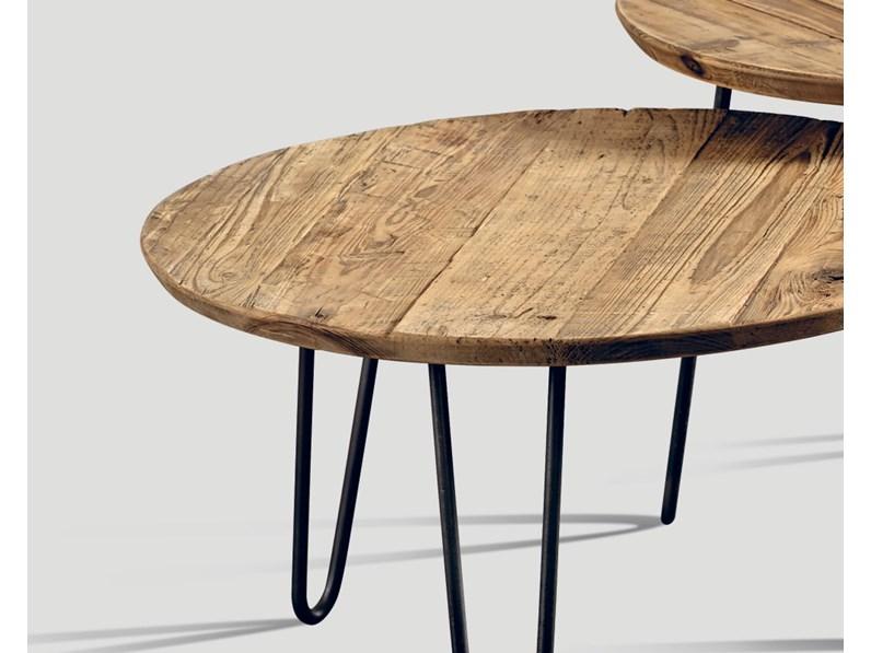 Tavolo In Ferro Brunito E Legno : Tavolino set pezzi di dialma brown ferro brunito e legno