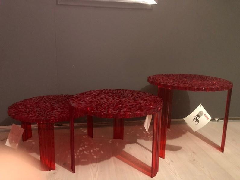 Tavolino T-table Kartell in altro a prezzo scontato