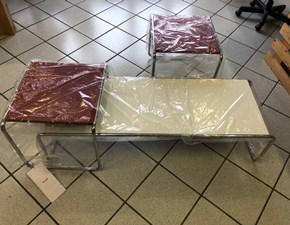 Tavolino Tavolini laccio knoll collezione breuer  in melaminico Knoll international con forte sconto