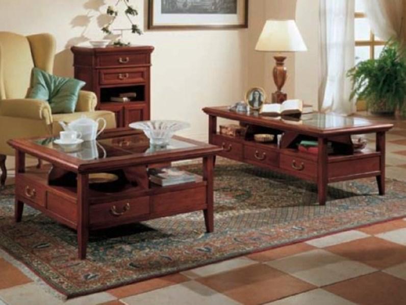 Tavolino Tavolino da salotto con 6 cassetti scontato del 40% Artigianale  SCONTO del 40%