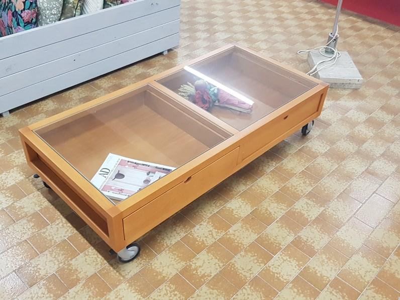 Tavolino tavolino domus mobili in legno in offerta outlet for Zanotti arredamenti