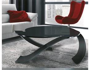 Tavolino Tavolino mod.ulisse in vetro curvo scontato del 30% Artigianale a PREZZI OUTLET