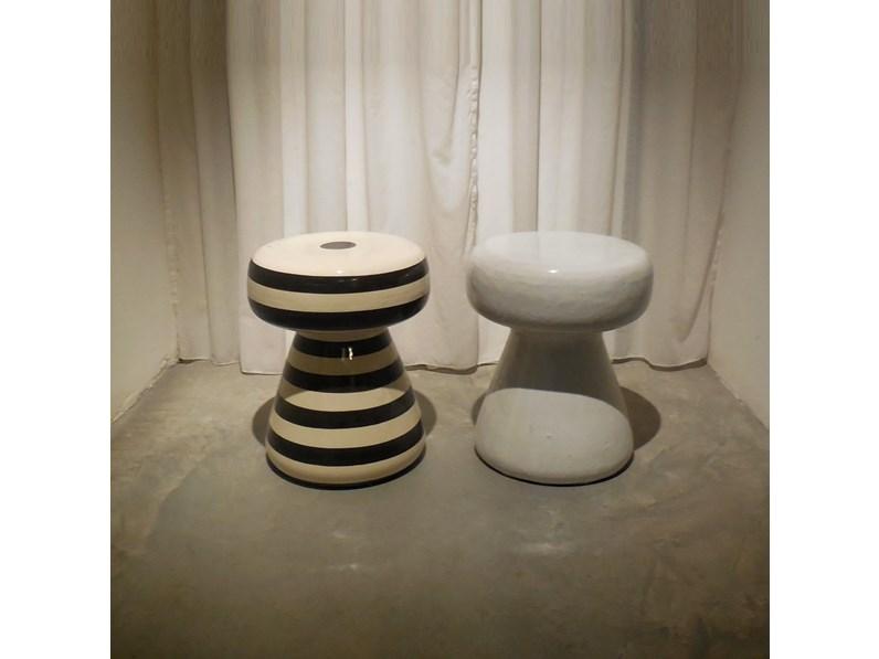 Sgabello Da Giardino In Ceramica : Sgabello moderno in ceramica contract da esterno clessidra