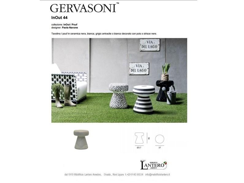 Tavolino Sgabello Ceramica In Out Gervasoni Sconto Del 29
