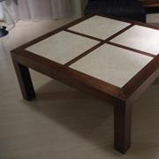 tavolino legno e marmo scontato