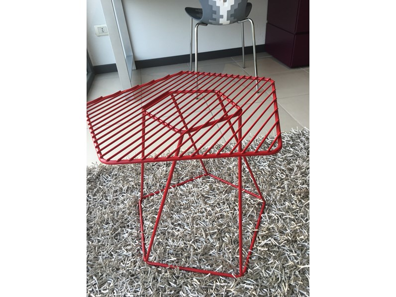 Tavolini Design Prezzi.Tavolino Tectonic In Stile Design Bonaldo A Prezzo Scontato