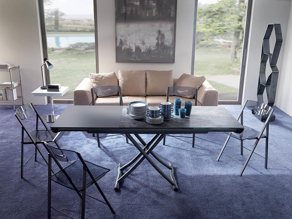 zottoz.com | tavoli legno e vetro - Tavolino Salotto Piano Vetro Palestrina