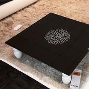 Tavolino vetro nero mod.Fiore