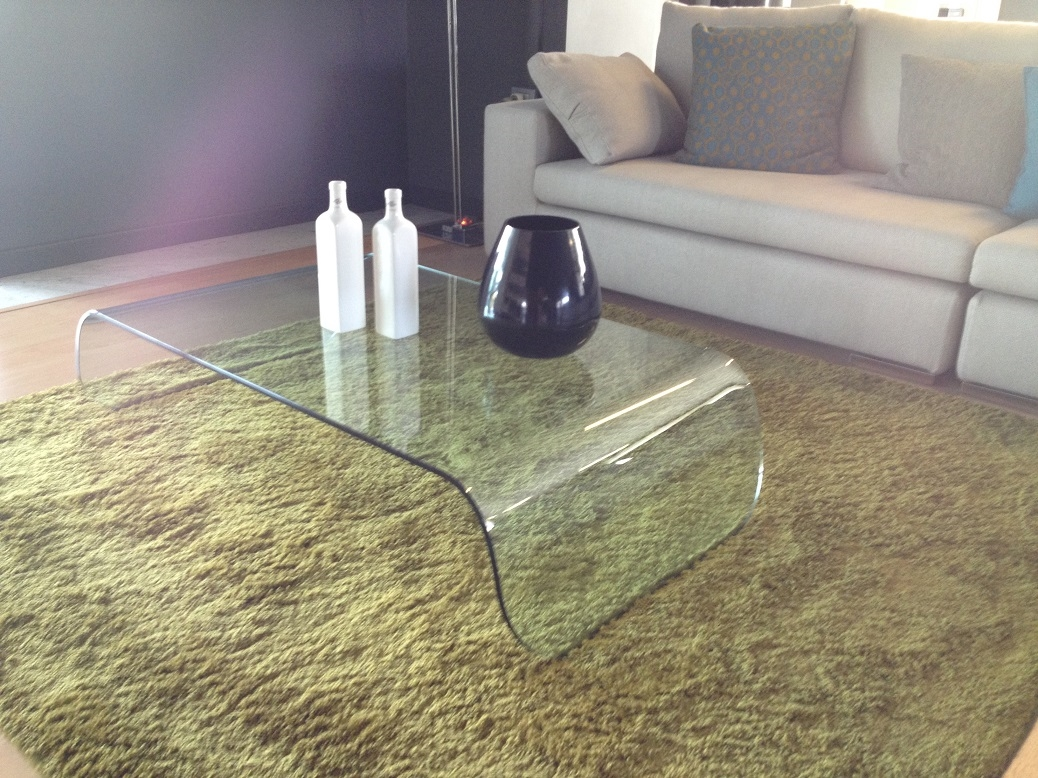 Tavolino vetro pacini e cappellini scontato del 50 for Design moderni della casa di vetro
