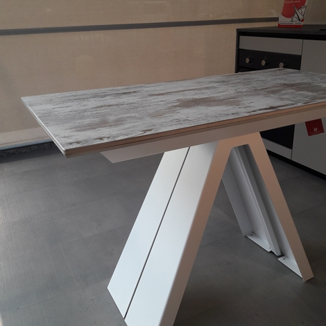 Tavolo consolle allungabile fino a 325 cm scontata del 30 for Tavolo consolle allungabile prezzi