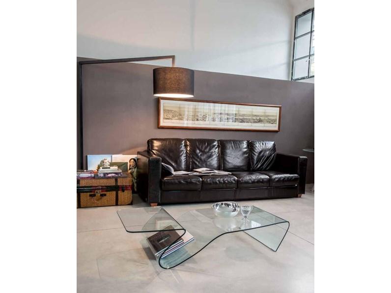 Tonin Casa Complemento Alaric-6223 Design Vetro Tavolini ...