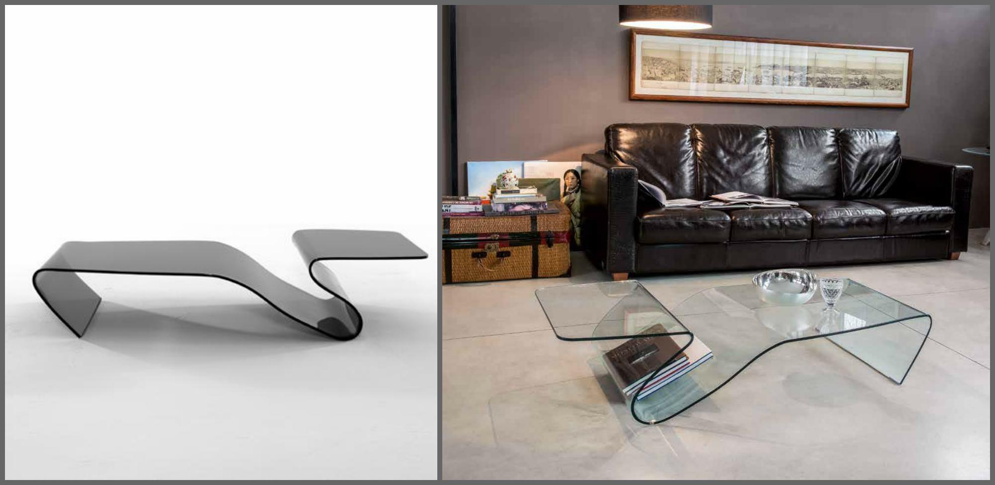 Tonin casa complemento alaric 6223 design vetro tavolini - Tavolini tonin casa ...