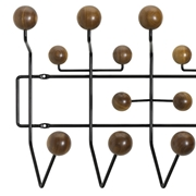 Vitra appendiabito Hang it all special edition noce/nero