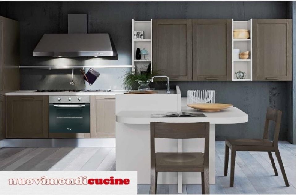 Cucine rustiche con caminetto idee creative di interni e - Cucine rustiche con penisola ...