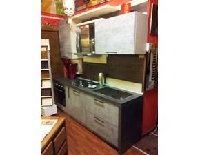 cucina in offerta grigia moderna