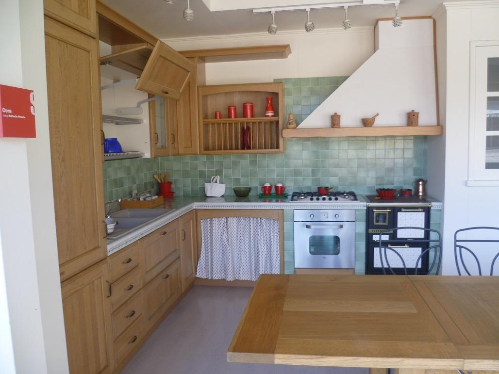 Cucina scavolini modello cora in rovere scontatissima - Cucine in rovere ...