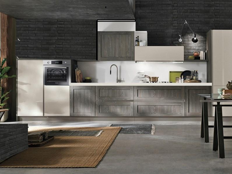 cucina talea moderna vintage industry in offerta outlet nuovimondi ...