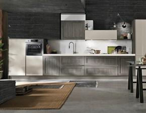 cucina industry vintage stile grigia e sabbia in offerta convenienza outlet nuovimondi