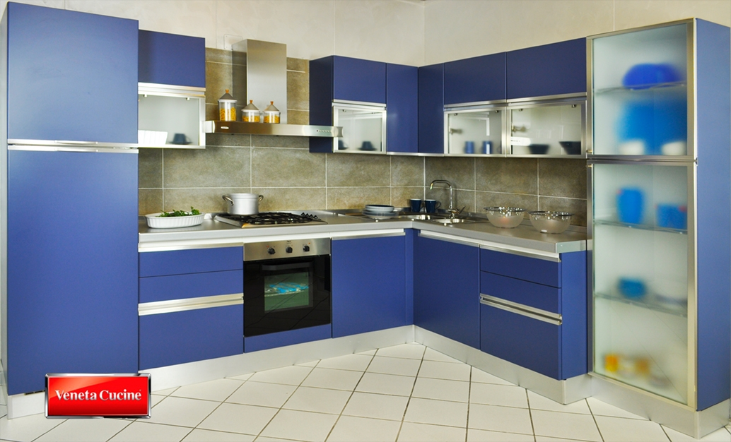 Cucina blu cobalto hi37 regardsdefemmes for Cucine shop on line