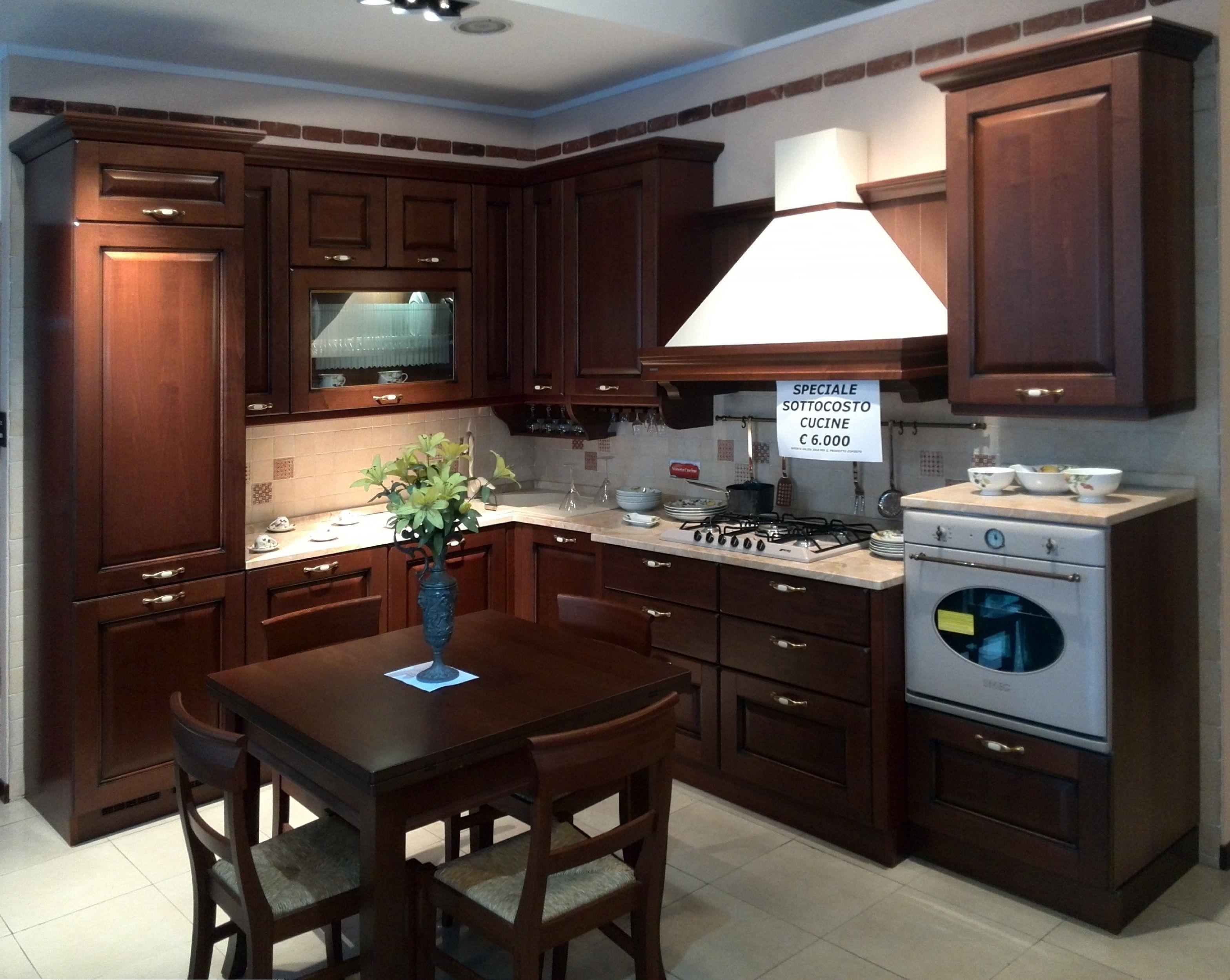 Veneta cucine cucina verdiana ciliegio anticato scontato for Cucine e cucine prezzi